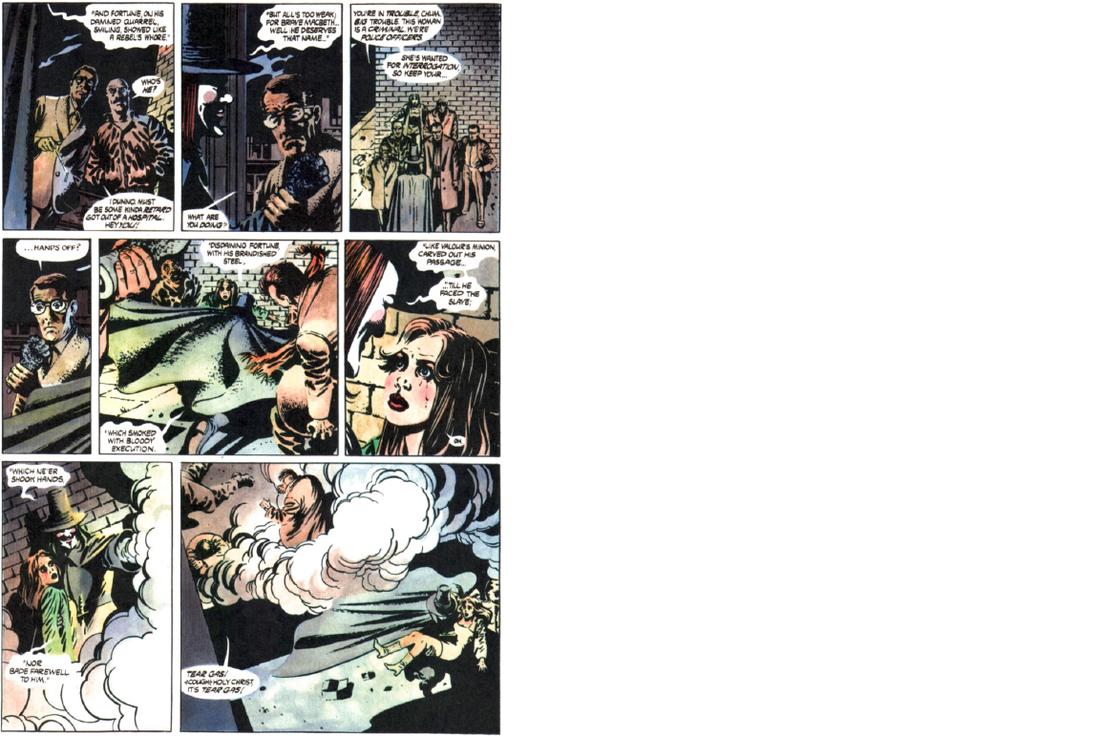 v for vendetta graphic novel analysis